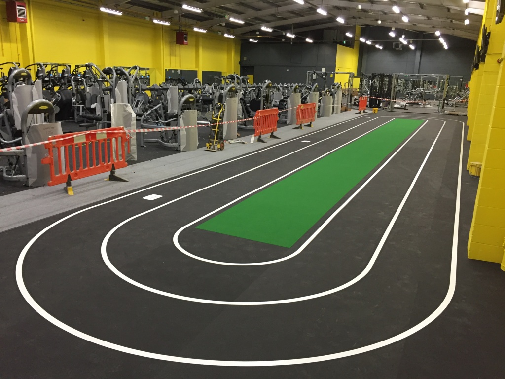 Xercise4less gym indoor track