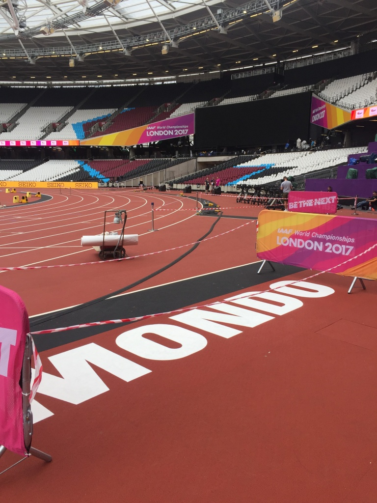 Final preparation for the IAAF World Championships