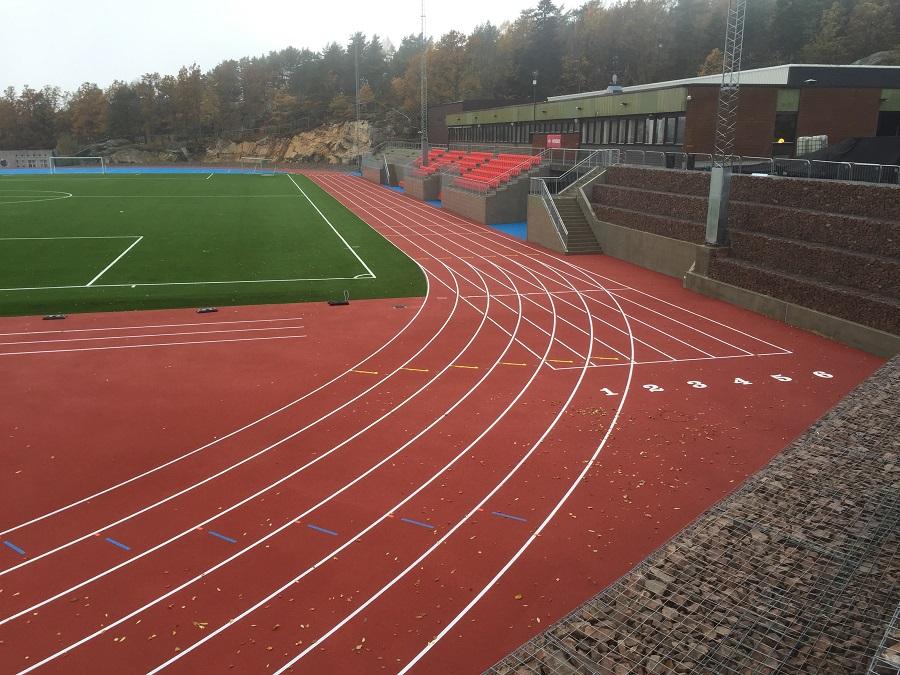 Drobak 6 lane track